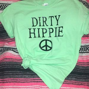Dirty hippie peace ☮️ various sizes & colors